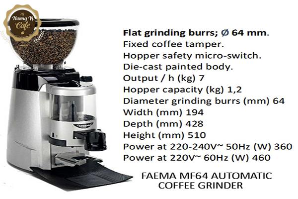 Máy xay cà phê Faema MF64