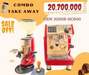 combo crm3200 hc600